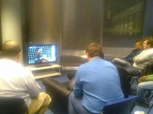 soccer betting session